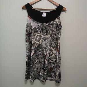 Womens long  motifs camisole
